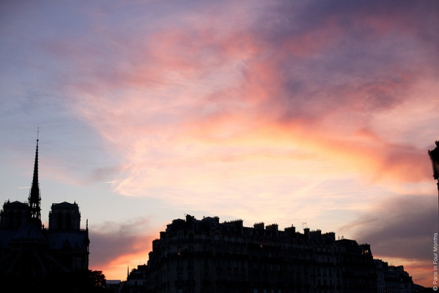 Paris-atardecer